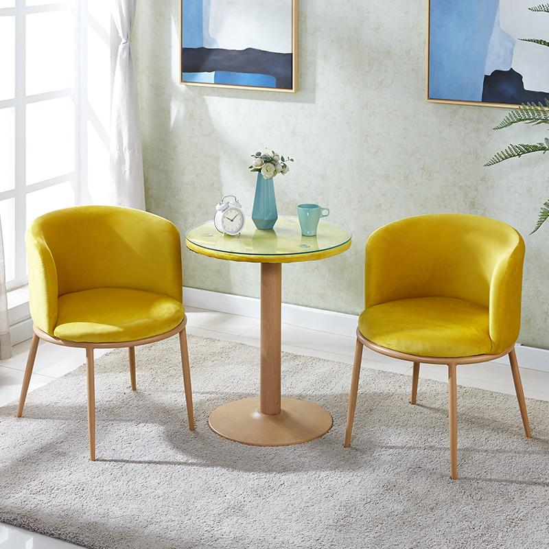 抖音阳台小桌椅三件套简约现代咖啡洽谈椅子创意网红美甲化妆凳子