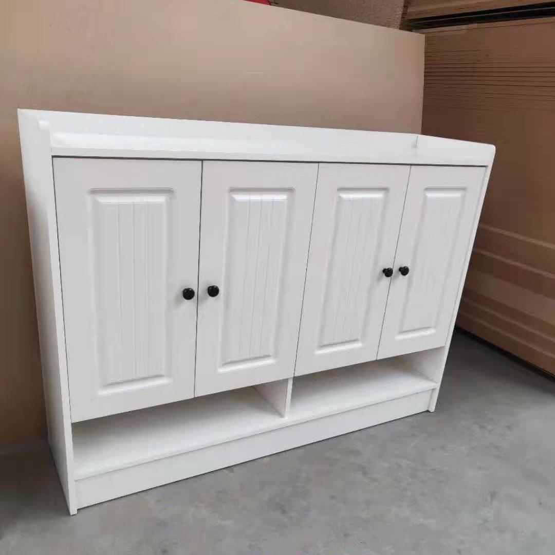 简约现代鞋柜欧式家用客厅门口多功能经济型大容量储物玄关门厅柜