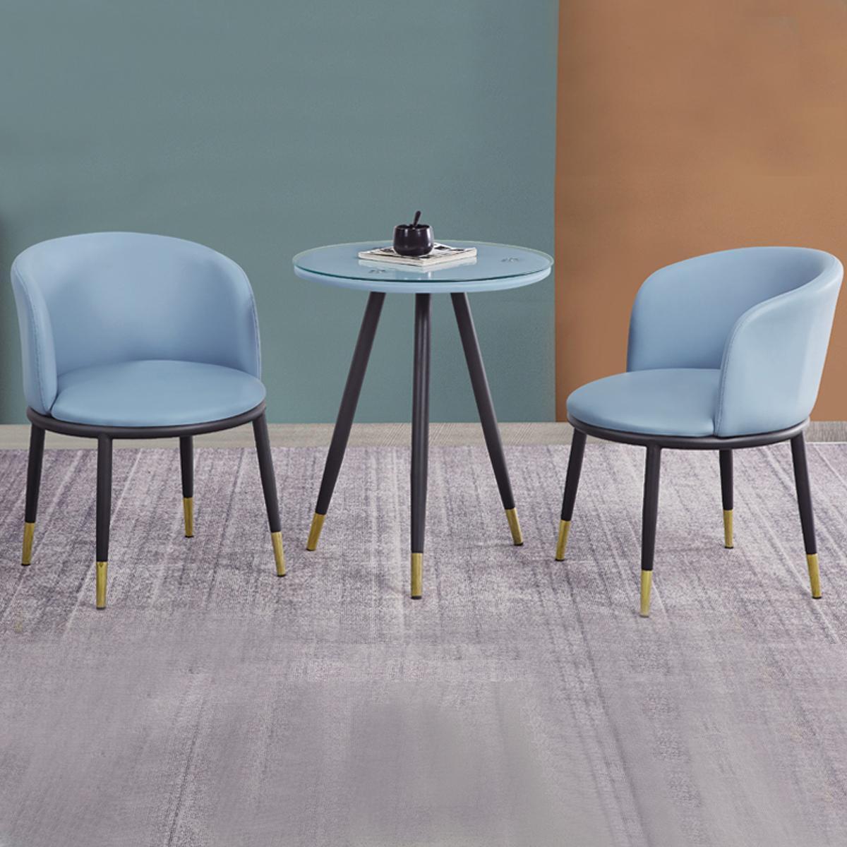 单人沙发阳台小桌椅懒人北欧卧室小户型简约现代轻奢布艺休闲椅子