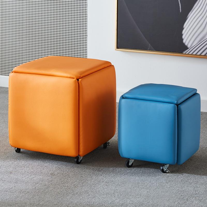 魔方凳子 小凳子 多功能凳子   方凳子 多功能凳子 多功能组合凳子 网红凳子 多功能小凳子
