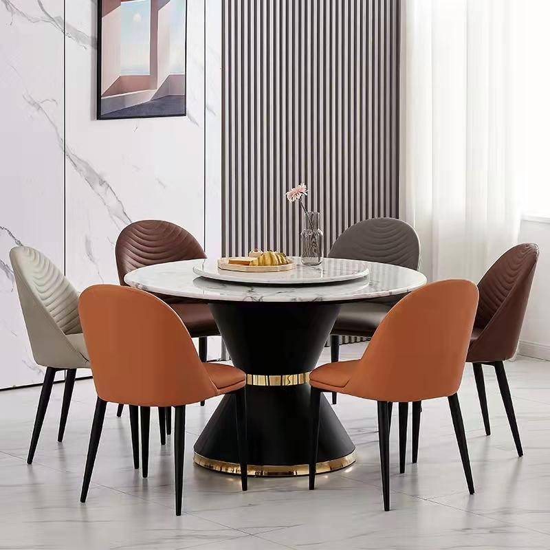 北欧轻奢餐椅家用椅子现代餐椅简约凳子靠背椅子商用椅子餐厅椅子 休闲餐椅