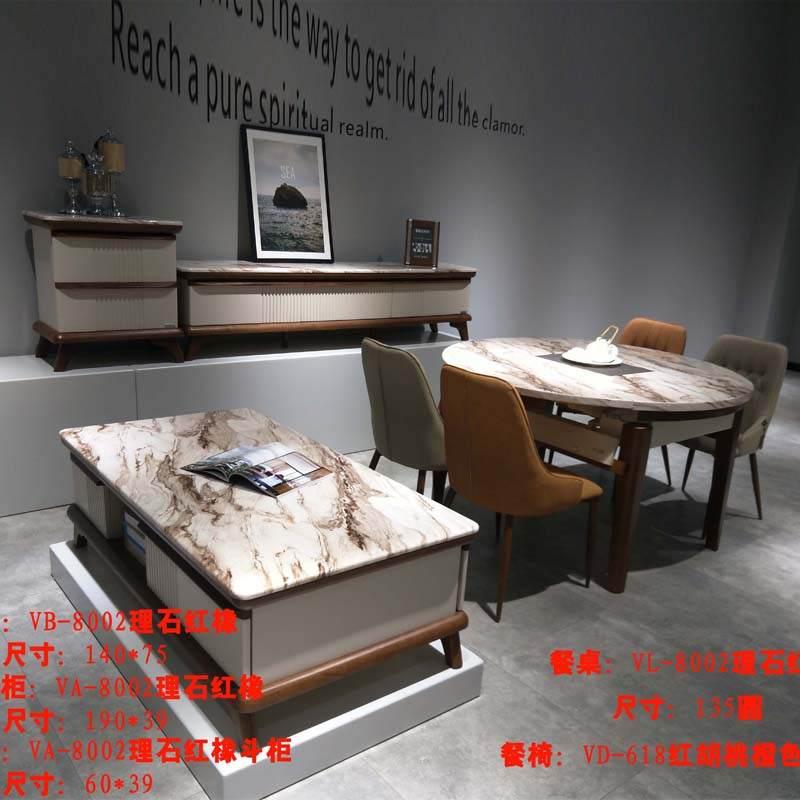 多功能实木大理石伸缩桌直桌蹦桌跳台圆桌