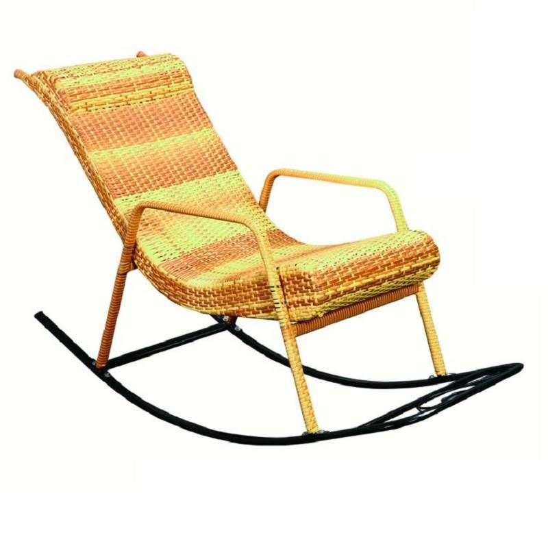 摇椅家用成人午睡椅老人摇摇椅户外躺椅阳台藤椅现代休闲逍遥椅子