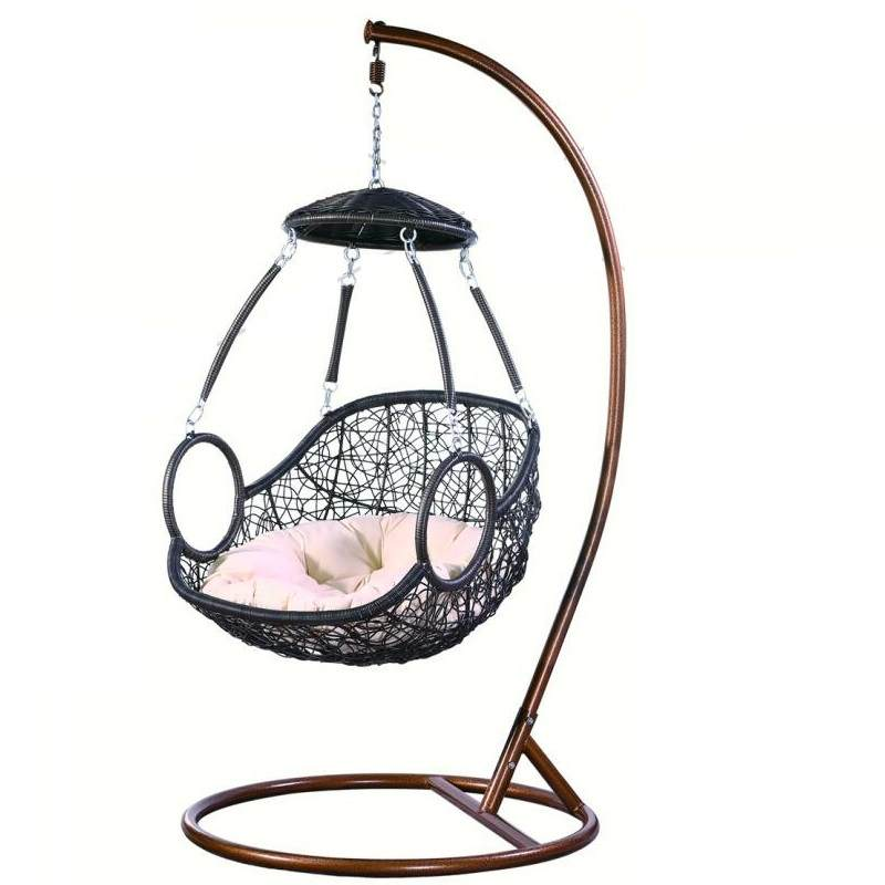 阳台秋千吊篮藤椅客厅吊床室内家用单人掉摇椅成人鸟巢摇篮椅吊椅