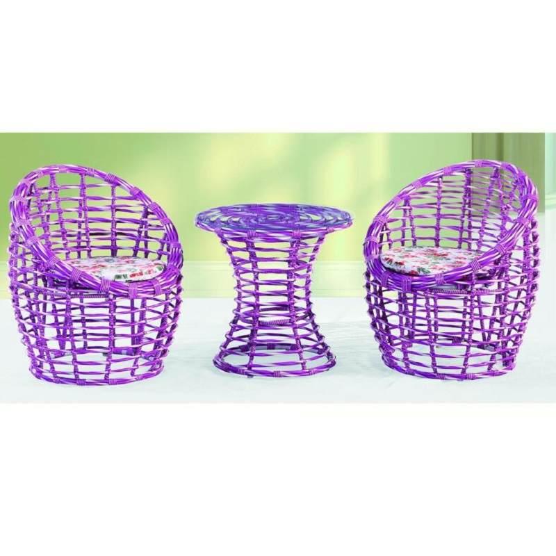 藤椅三五件套庭院椅子鸟巢户外阳台田园桌椅室内休闲座椅茶几组合