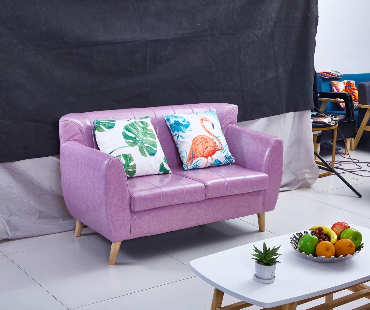 新款时尚简约沙发床1.2米单人1.5米双人1.8米三人可折叠沙发绒布