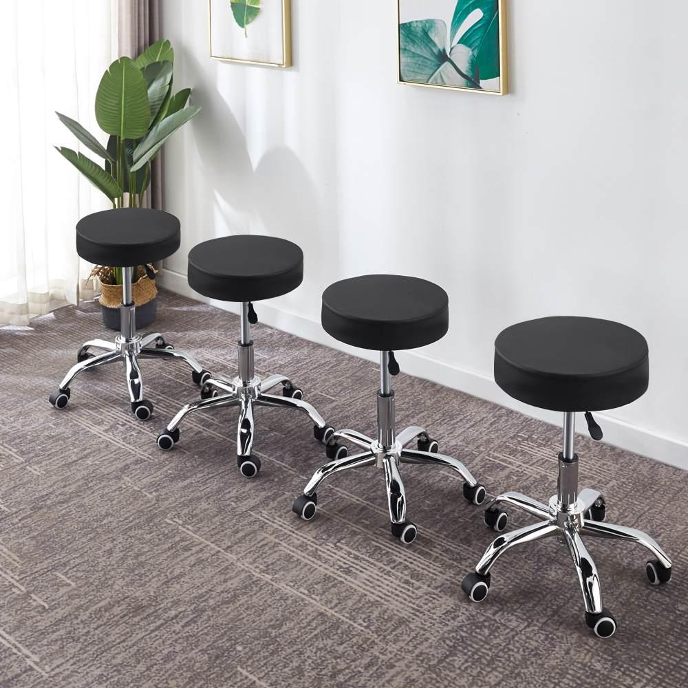 美容椅升降大工凳现代简约酒吧高脚凳前台吧凳旋转升降椅美容院专用
