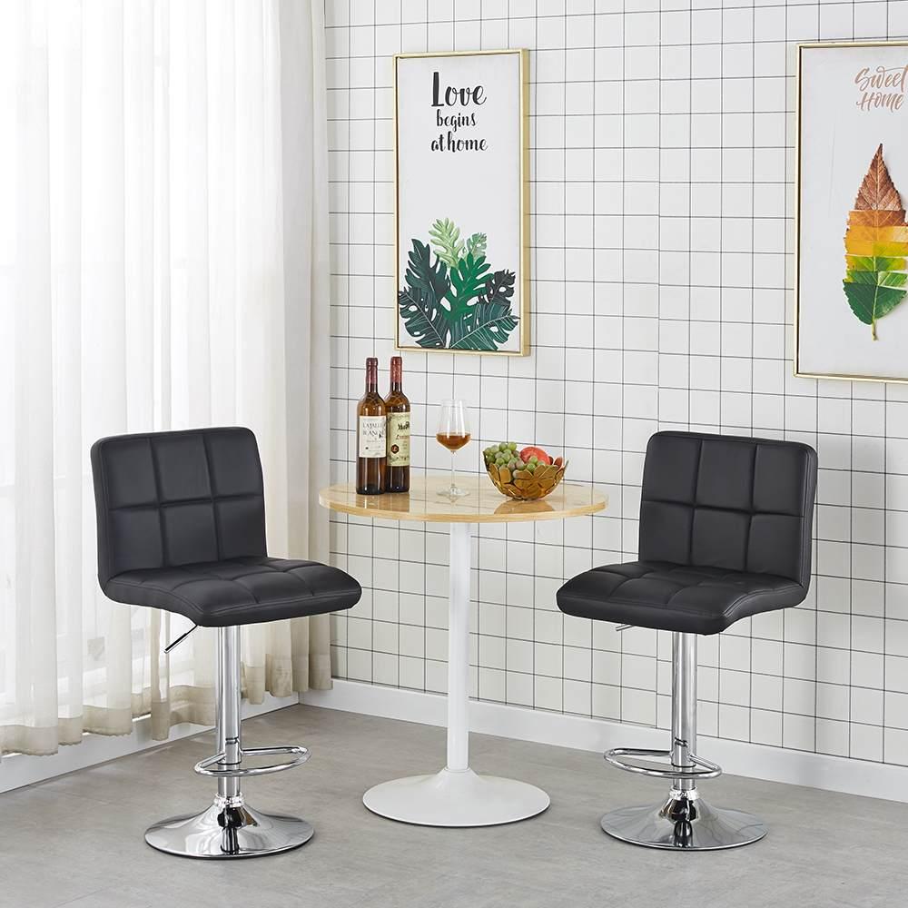 家用电脑椅转椅学生椅子酒吧凳子时尚小圆椅前台靠背椅职员椅