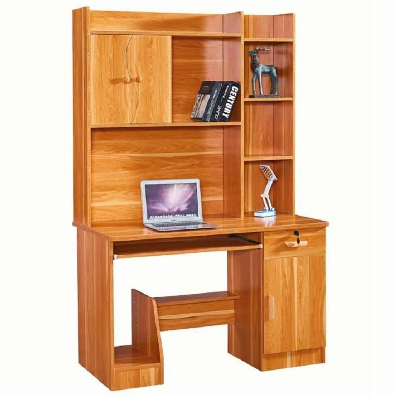 小写字桌电脑桌台式桌家用简约办公卧室桌子简易书桌书架组合宿舍