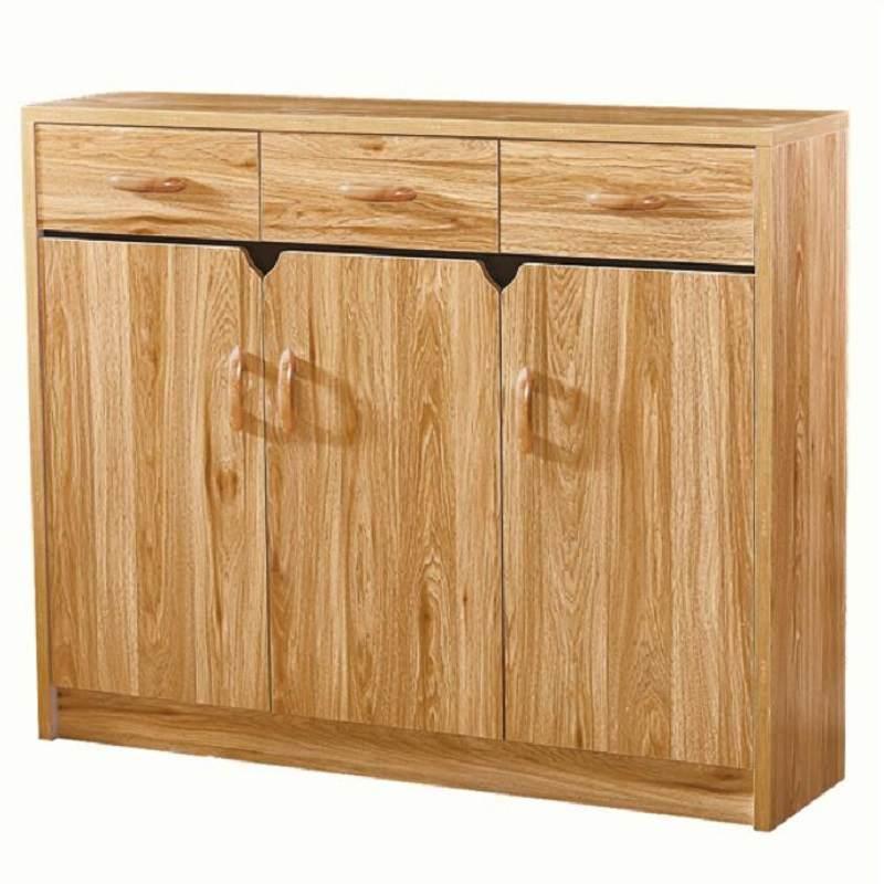 鞋柜家用进门口大容量收纳储物玄关简约现代木质经济型仿实木鞋架