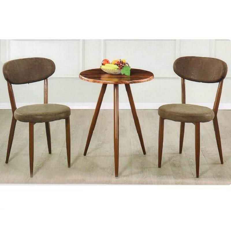 茶几小阳台极简桌椅卧室靠背组合三件套休息圆桌简约休闲北欧椅子