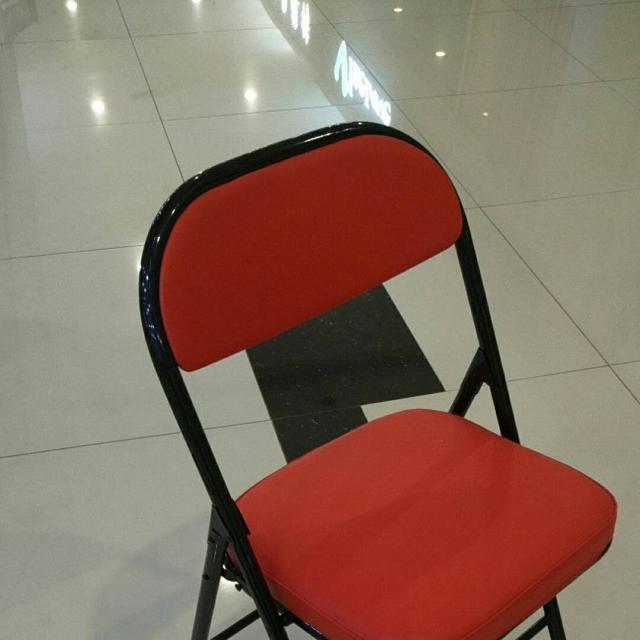 艳成家具生产桥牌椅  铁管折叠椅  铁盘折叠椅  结实耐用