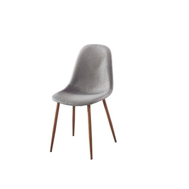 北欧设计师创意现代简约靠背椅金属艺术咖啡厅桌椅伊姆斯原创餐椅