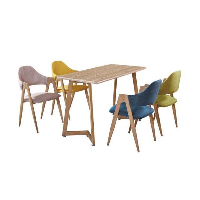 A字椅咖啡厅奶茶店简约桌椅洽谈桌椅吃饭组合休闲北欧会客圆桌