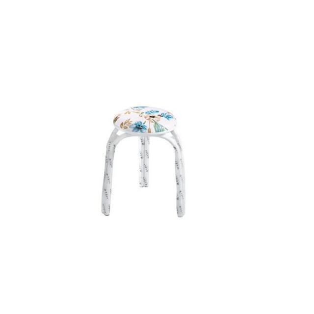 创意加厚地圆凳子钢筋凳家用套凳铁凳圆凳毯凳子餐凳塑料凳子