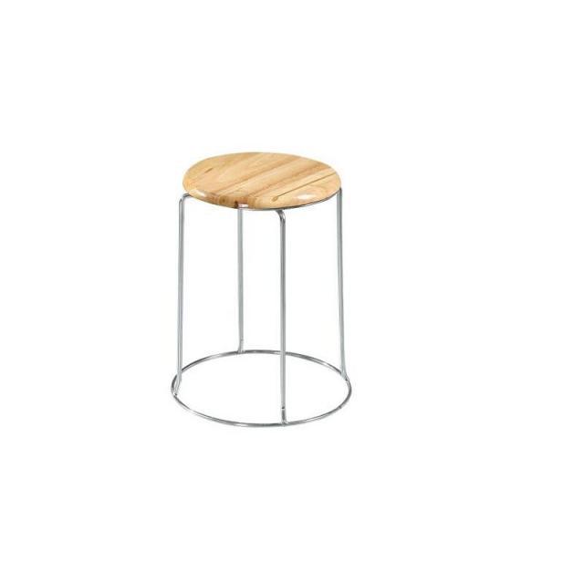 实木加厚成人圆凳家用夜市小板凳橡木钢筋凳实木凳子吃饭凳