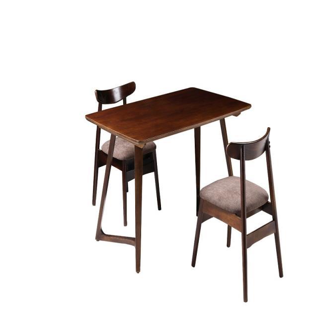 北欧家具餐椅现代简约餐厅家用小户型实木靠背牛角椅